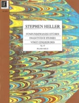 25 Etudes Mélodiques Opus 45 Stephen Heller Partition laflutedepan