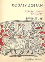 Zoltan Kodaly - Spinnstube - Sheet Music - di-arezzo.com