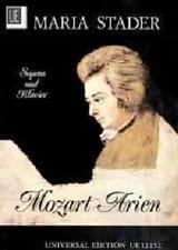 MOZART - Mozart Arien der Maria Stader - Partitura - di-arezzo.es
