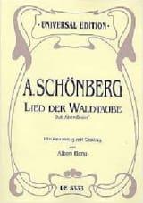 Arnold Schoenberg - Lied der Waldtaube - Partition - di-arezzo.fr
