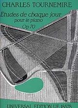 Etudes de chaque Jour Opus 70 Charles Tournemire laflutedepan.com