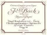BACH / DUPRE - Complete Works For Organ Volume 12 - Sheet Music - di-arezzo.co.uk