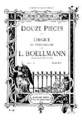 Léon Boëllmann - 12 Pieces Opus 16 - Sheet Music - di-arezzo.co.uk