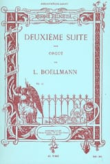 Léon Boëllmann - 2ème Suite Opus 27 Pour Grand Orgue - Partition - di-arezzo.fr