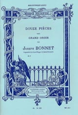Joseph Bonnet - 12 Pièces Opus 7 - Partition - di-arezzo.fr