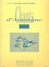 Chants D'Auvergne Volume 5 Joseph Marie Canteloube laflutedepan.com