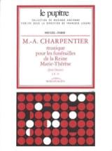 Marc-Antoine Charpentier - Musique Pour les Funérailles de la Reine Marie-Thérèse - Partition - di-arezzo.fr