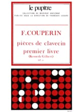 Couperin François / Gilbert Kenneth - Harpsichord pieces. Book 1 - Sheet Music - di-arezzo.com