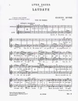 Marcel Dupré - Laudate Opus 9-4. Women's Voices - Sheet Music - di-arezzo.com