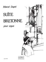 Marcel Dupré - Suite Bretonne Opus 21 - Partition - di-arezzo.fr