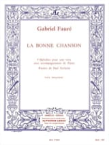Gabriel Fauré - The Good Song Opus 61. Average Voice - Sheet Music - di-arezzo.com
