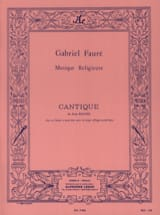 Gabriel Fauré - Lied von John Racine Opus 11 2 Stimme - Noten - di-arezzo.de