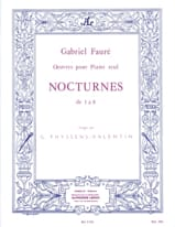 Gabriel Fauré - Nocturnes From 1 to 8 - Sheet Music - di-arezzo.com