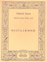 Gabriel Fauré - Sicilian Opus 78 - Sheet Music - di-arezzo.co.uk