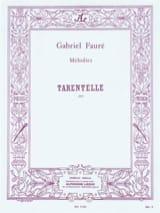 Tarentelle Gabriel Fauré Partition Duos - laflutedepan.com