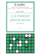 Pièces De Clavecin - Fiocco Joseph-Hector / Petech - laflutedepan.com