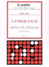 Pièces De Clavecin Forqueray Antoine / Tilney Colin laflutedepan.com