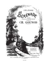 Célèbre Sérénade. Voix Moyenne Charles Gounod laflutedepan.com