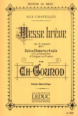 Charles Gounod - Brief Mass at Chapels No. 7 - Sheet Music - di-arezzo.co.uk