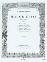 Alexander Gretchaninov - Historiettes Opus 118 - Partition - di-arezzo.fr