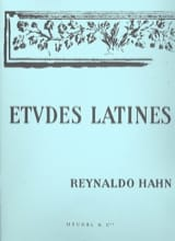 Reynaldo Hahn - Latin Studies - Sheet Music - di-arezzo.com