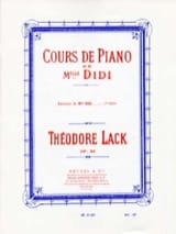 Théodore Lack - Exercises of Miss Didi Opus 85 Book 1 - Sheet Music - di-arezzo.com