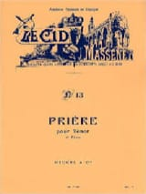 Jules Massenet - O Sovereign. The Cid - Sheet Music - di-arezzo.com