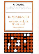 Scarlatti Domenico / Gilbert Kenneth - Complete Works Volume 9. K408 A K457 - Sheet Music - di-arezzo.com