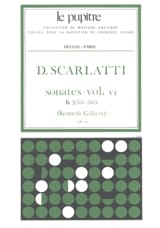 Scarlatti Domenico / Gilbert Kenneth - Complete Works Volume 6. K256 A K305 - Sheet Music - di-arezzo.com