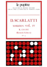 Scarlatti Domenico / Gilbert Kenneth - Complete Works Volume 4. K156 A K205 - Sheet Music - di-arezzo.com