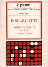 Scarlatti Domenico / Gilbert Kenneth - Complete Works Volume 2. K53 A K103 - Sheet Music - di-arezzo.co.uk