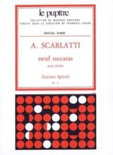 9 Toccatas - Scarlatti Alessandro / Sgrizzi Luciano - laflutedepan.com