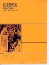 Episodes Alexandr Tcherepnine Partition Piano - laflutedepan.com