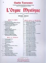 Charles Tournemire - Inmaculada Concepción. Órgano místico 2 - Partitura - di-arezzo.es