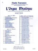 Epiphanie. Orgue Mystique 7 Charles Tournemire Partition laflutedepan