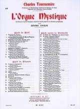 Charles Tournemire - Pascua Opus 56. Órgano Místico 17 - Partitura - di-arezzo.es