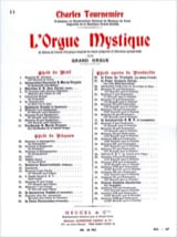 Charles Tournemire - 23ème Dimanche Après la Pentecôte. Orgue Mystique 51 - Partition - di-arezzo.fr