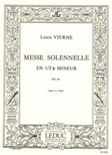 Louis Vierne - Cシャレ・マイナー作品16のソリムス・マス - 楽譜 - di-arezzo.jp