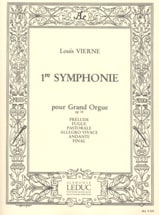 Louis Vierne - Symphony No. 1 Opus 14 - Sheet Music - di-arezzo.co.uk
