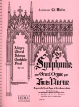 Louis Vierne - Symphony No. 2 Opus 20 - Sheet Music - di-arezzo.co.uk