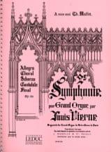 Louis Vierne - Symphonie N°2 Opus 20 - Partition - di-arezzo.fr
