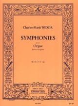 Charles-Marie Widor - Symphonie n° 6 Opus 42 En Sol - Partition - di-arezzo.fr