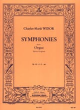 Charles-Marie Widor - Symphonie n° 6 Opus 42 En Sol - Partition - di-arezzo.ch