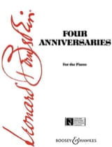 Leonard Bernstein - 4 Anniversaries - Sheet Music - di-arezzo.co.uk