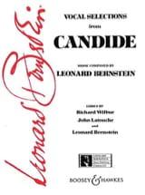 Leonard Bernstein - Candide (Extraits) - Partition - di-arezzo.fr