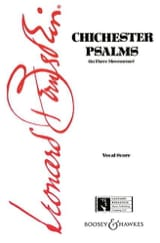 Leonard Bernstein - Chichester Psalms - Sheet Music - di-arezzo.co.uk