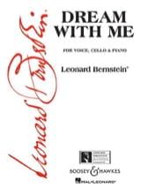 Dream With Me. - Leonard Bernstein - Partition - laflutedepan.com