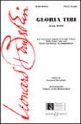 Léonard Bernstein - Gloria Tibi Mass - Sheet Music - di-arezzo.com