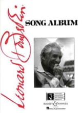 Song Album Leonard Bernstein Partition Mélodies - laflutedepan.com