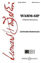 Leonard Bernstein - Warm Up - Partition - di-arezzo.fr